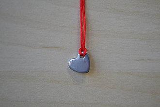 Komponenty - Prívesok srdce chirurgická oceľ, 0.40€/ks - 8715608_