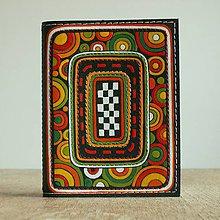 Peňaženky - Cirkus - kožená dokladovka - 8716186_