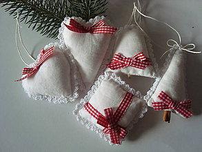 Dekorácie - Vidiecky Vianočný setík - 8714929_