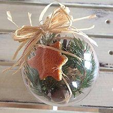 Dekorácie - Vianočna guľka - 8714590_