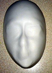 Modelovacie hmoty - tvár - sadrový odliatok na dotvorenie - 8723528_