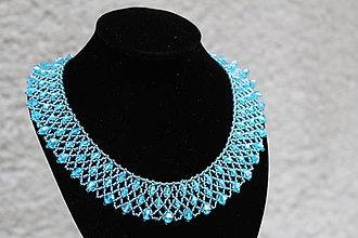 Náhrdelníky - náhrdelník aquamarin 2 - 8722601_