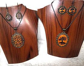 Sady šperkov - drevené šperky... - 8719787_
