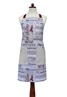 Oblečenie - pánska zástera Chilli - 8722625_