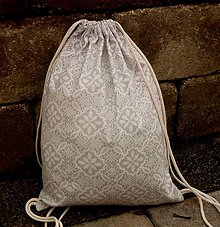 Batohy - vrecko na chrbát - krajka - 8720286_