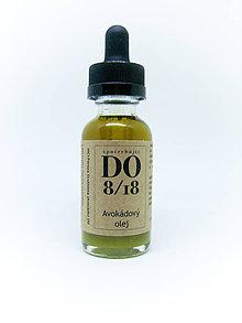 Suroviny - ORGANICKÉ OLEJE 30ML  (Avokádový olej) - 8724075_