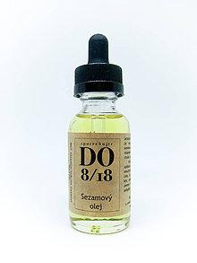 Suroviny - ORGANICKÉ OLEJE 30ML  (Sezamový olej) - 8724089_
