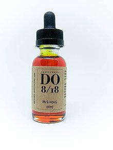 Suroviny - ORGANICKÉ OLEJE 30ML (Mrkvový olej) - 8724148_