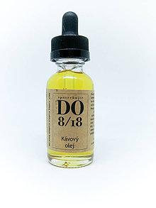 Suroviny - ORGANICKÉ OLEJE 30ML (Kávový olej) - 8724156_