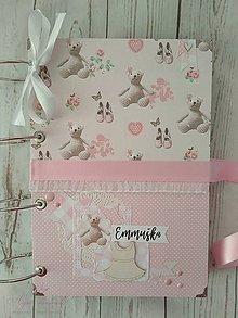 Papiernictvo - Veľká dievčenská kniha (s popiskami) - 8722076_