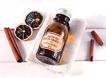 - Masážny olej škoricovo-pomarančový (100 ml) - 8719705_