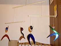 Hračky - Tanečníci - montessori mobil - 8719923_