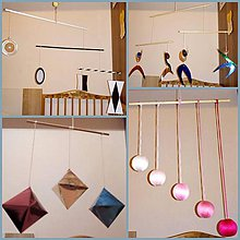 Hračky - montessori závesné mobily -  sada - 8719933_