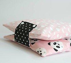 Detské doplnky - Organizér pre mamičky, panda  (obal na plienky ) - 8720205_
