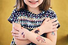 - Dočasné tetovačky - Jednorožce - 8721760_