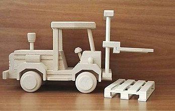 Hračky - Vysokozdvižný vozík s paletou - 8721893_