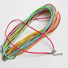 Komponenty - Silikónový náhrdelník - 8724360_