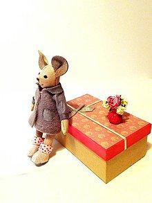 Hračky - Oblečenie pre myšku - 8722844_