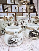 Svietidlá a sviečky - Vianočný svietnik - 8722516_