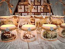 Svietidlá a sviečky - Vianočný svietnik vačší - 8723591_
