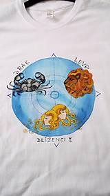 Tričká - Pánske tričko so znameniami zverokruhu - 8720438_