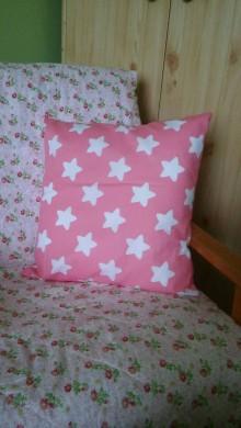 Úžitkový textil - hviezdičkový vankúš - 8721755_