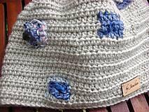 Detské čiapky - Béžová čiapočka - 8720449_