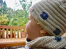 Detské čiapky - Béžová čiapočka - 8720450_