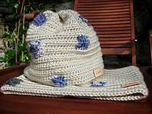Detské čiapky - Béžová čiapočka - 8720454_