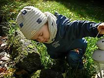 Detské čiapky - Béžová čiapočka - 8720455_
