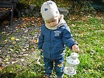 Detské čiapky - Béžová čiapočka - 8720498_