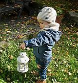 Detské čiapky - Béžová čiapočka - 8720591_