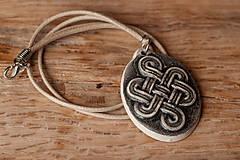 - Medailón s keltským uzlom - 8720430_