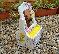 Krabičky - Zrkadielko pre dievčatko - 8721117_