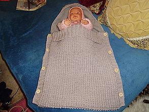 Detské doplnky - Pletené fusaky - 8722582_