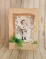 Papiernictvo - Vianočný pozdrav vintage - 8721331_