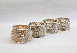 Svietidlá a sviečky - Svetríkové adventné svietniky - 8724411_