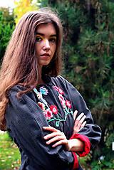 Kabáty - Bundička s bohatou výšivkou fauny a flóry - 8720034_