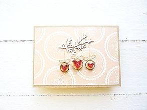 Papiernictvo - vianočná pohľadnica - 8721360_