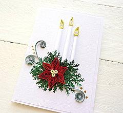 Papiernictvo - vianočná pohľadnica - 8721395_