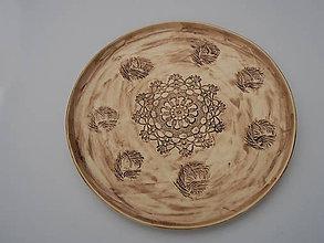 Nádoby - Pizza tanier veľký Sedmikraska 32 cm - 8725758_