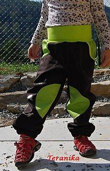 Detské oblečenie - Softshellové kalhoty