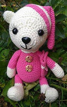 Hračky - Ružový macko - 8729968_