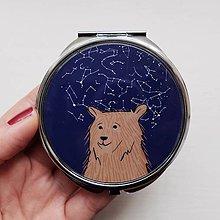 Zrkadielka - zrkadlo medvedík - 8729490_