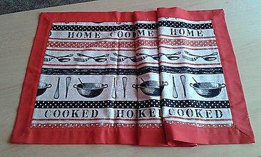 Úžitkový textil - Stredový obrus -home cooked - 8725704_