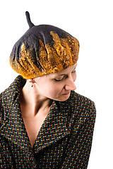 Čiapky - Plstená čiapka, Francúzska baretka z Merino vlny - 8729703_