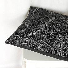 Úžitkový textil - Černá a bílá poprvé - 8728457_