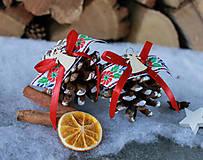 Dekorácie - krojové_ vianočné šišky - 8729913_
