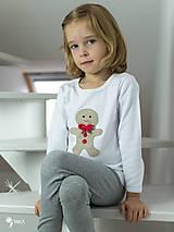 Detské oblečenie - tričko PERNÍK  kr/dl rukáv - veľ. od 86 do 128 - 8727540_