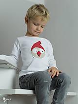 Detské oblečenie - tričko VIANOČNÝ GABO kr/dl rukáv - veľ. od 86 do 128 - 8727981_